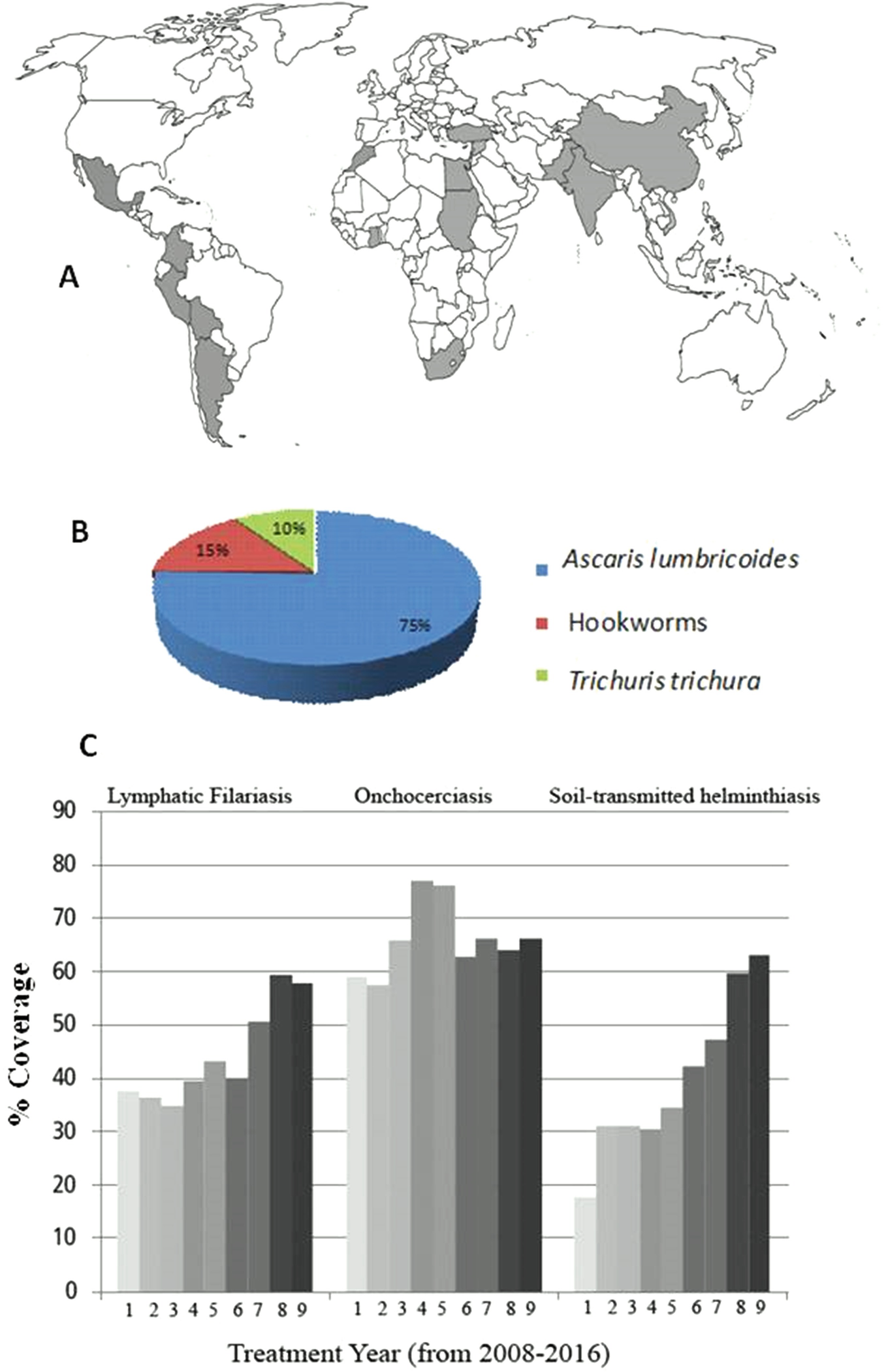enterobius vermicularis geographic distribution