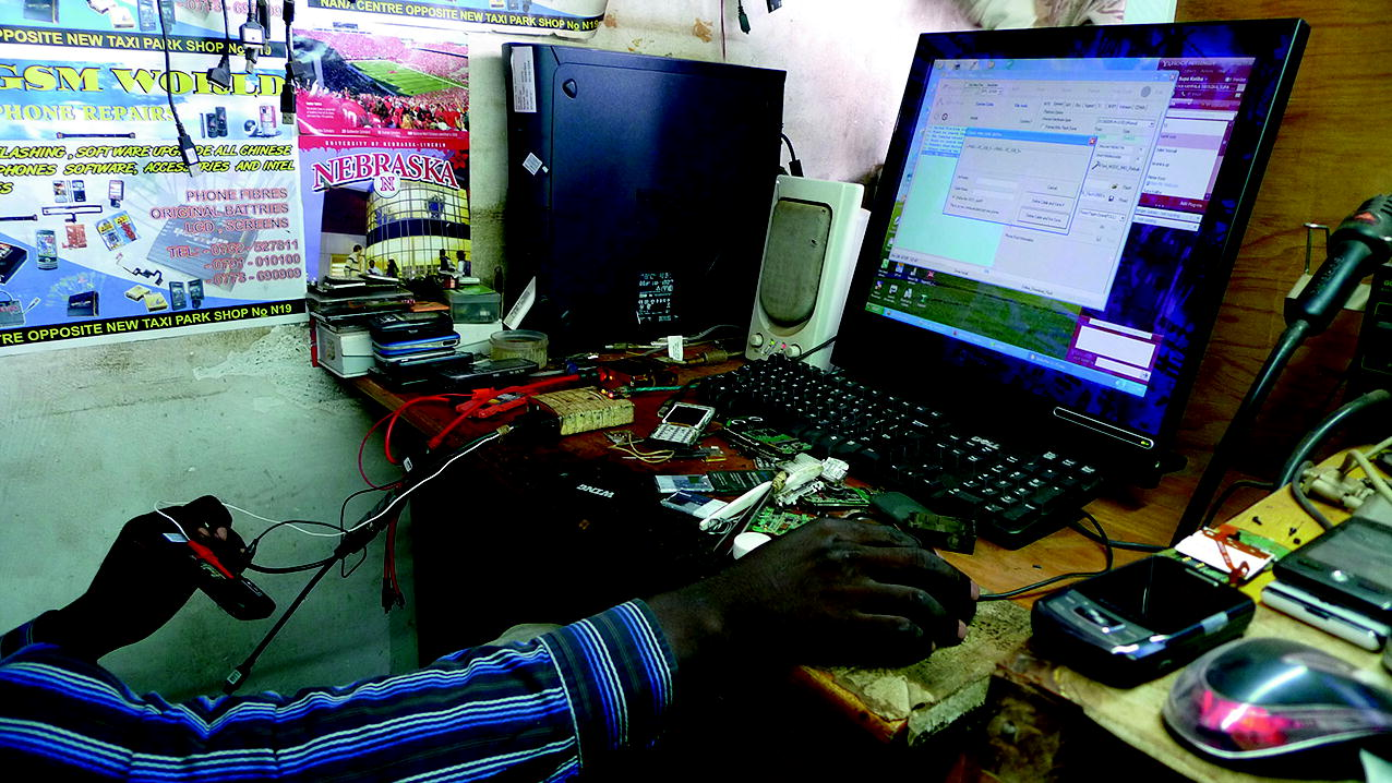 Mobile Phone Repair Knowledge in Downtown Kampala: Local and