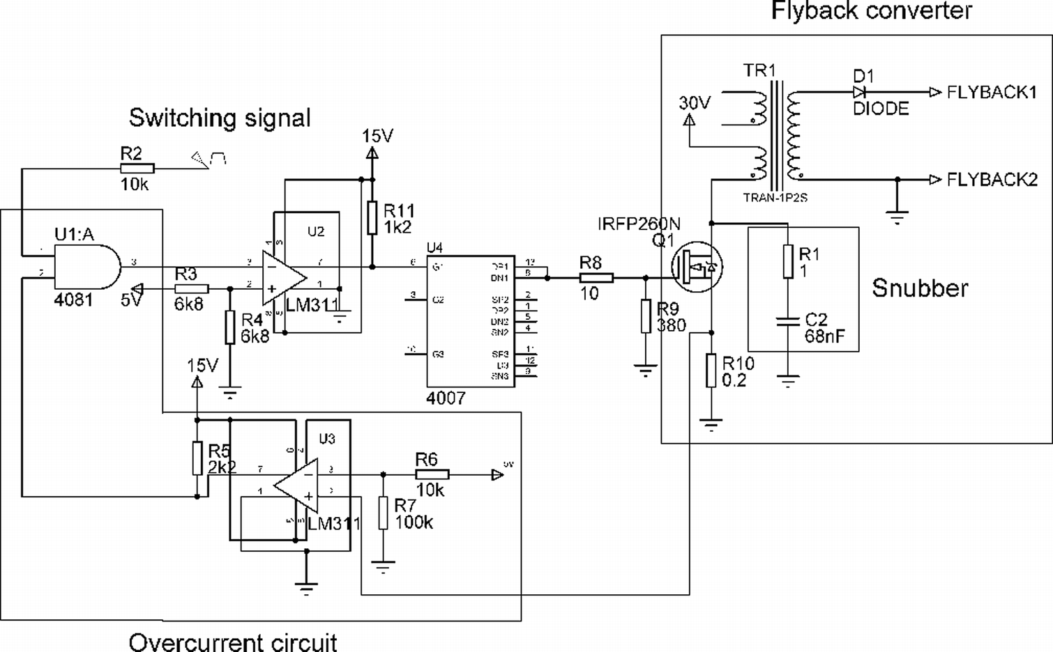 Development and Testing of a High Intensity Electrical