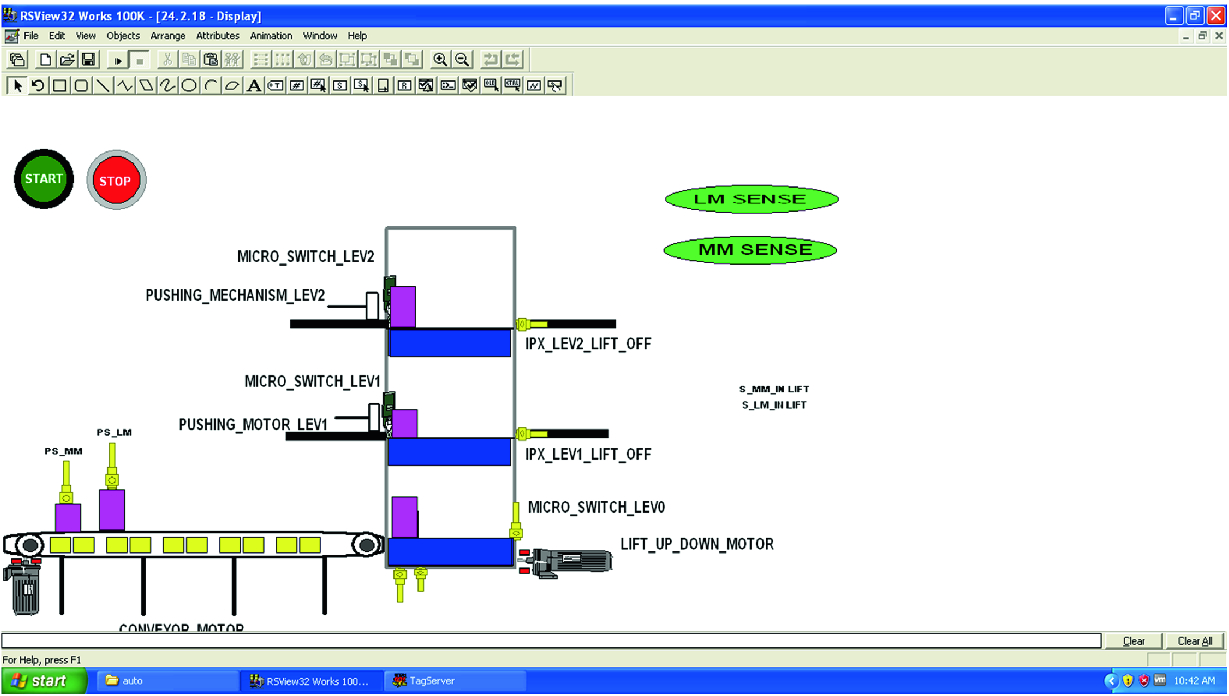 Lift Automation and Material Sorting Using PLC | SpringerLink