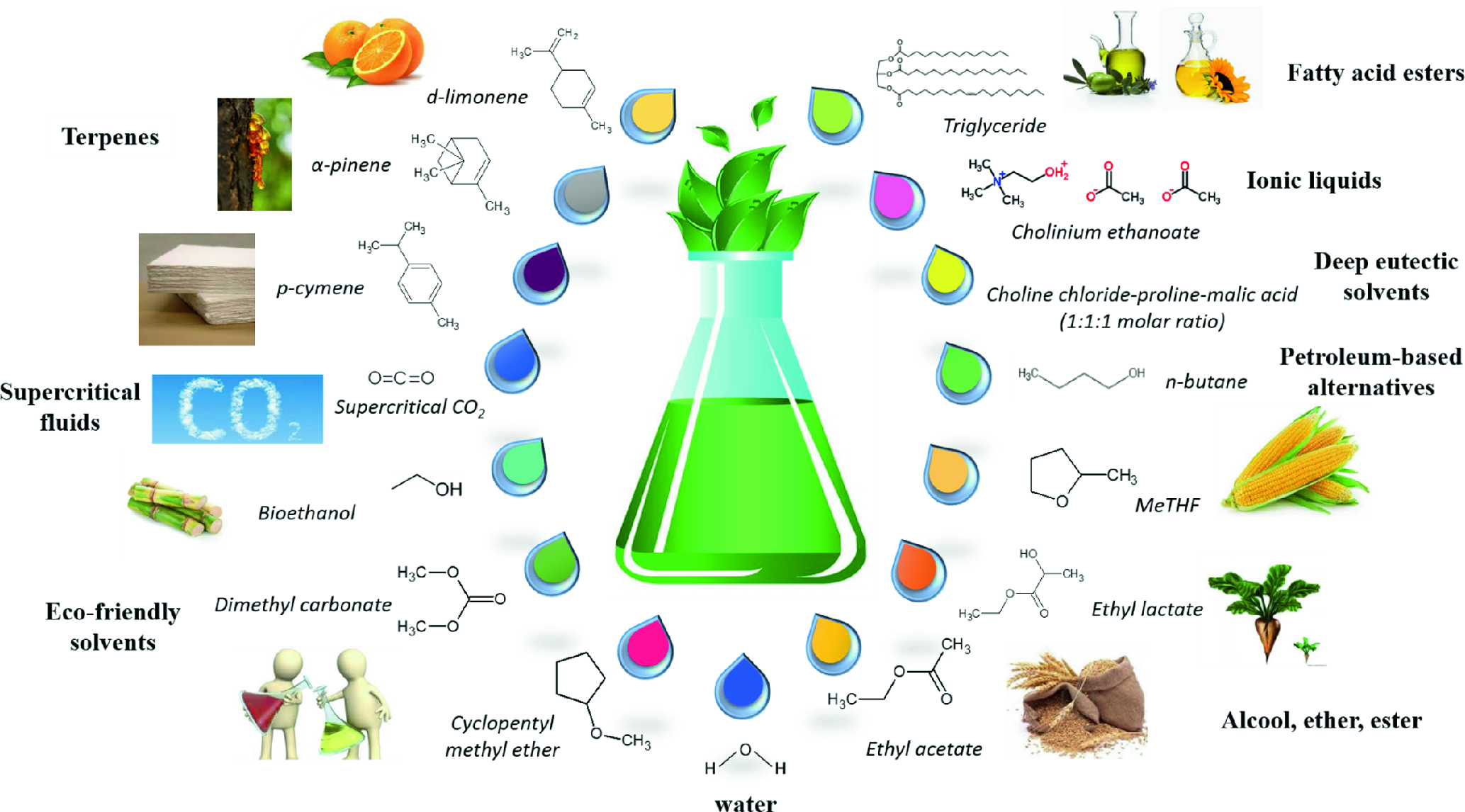 From Petroleum to Bio-Based Solvents: From Academia to
