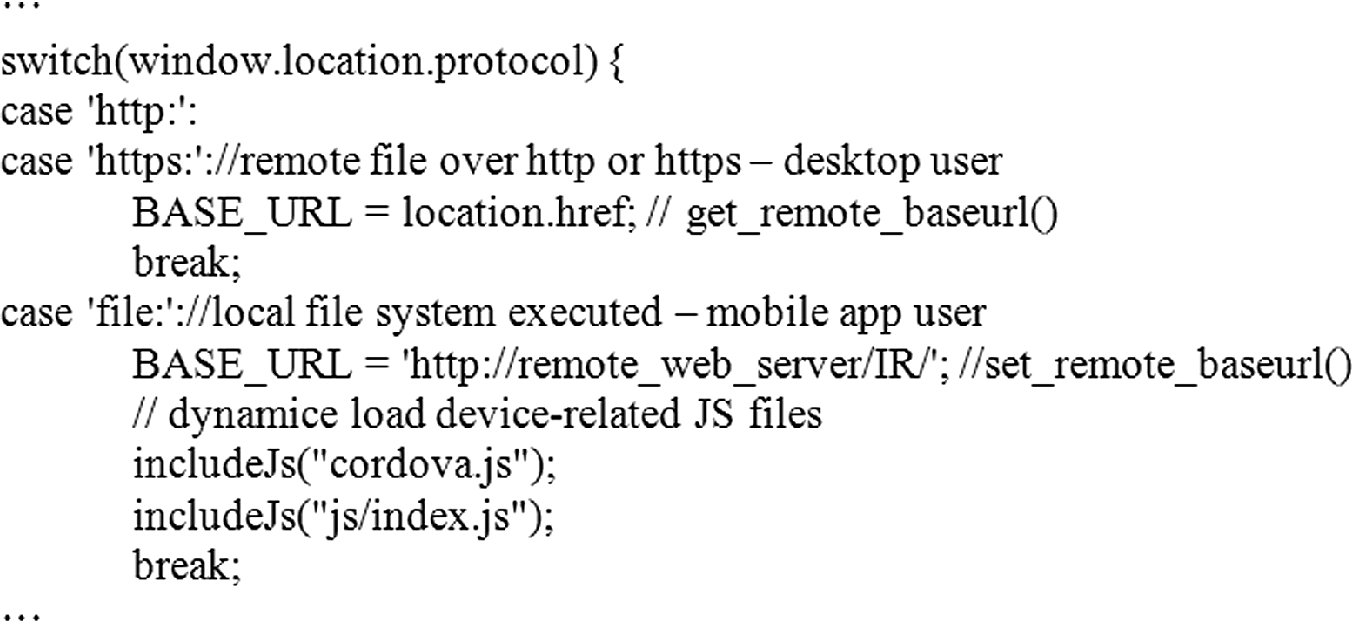 A Uniform Methodology for Mobile and Desktop Web