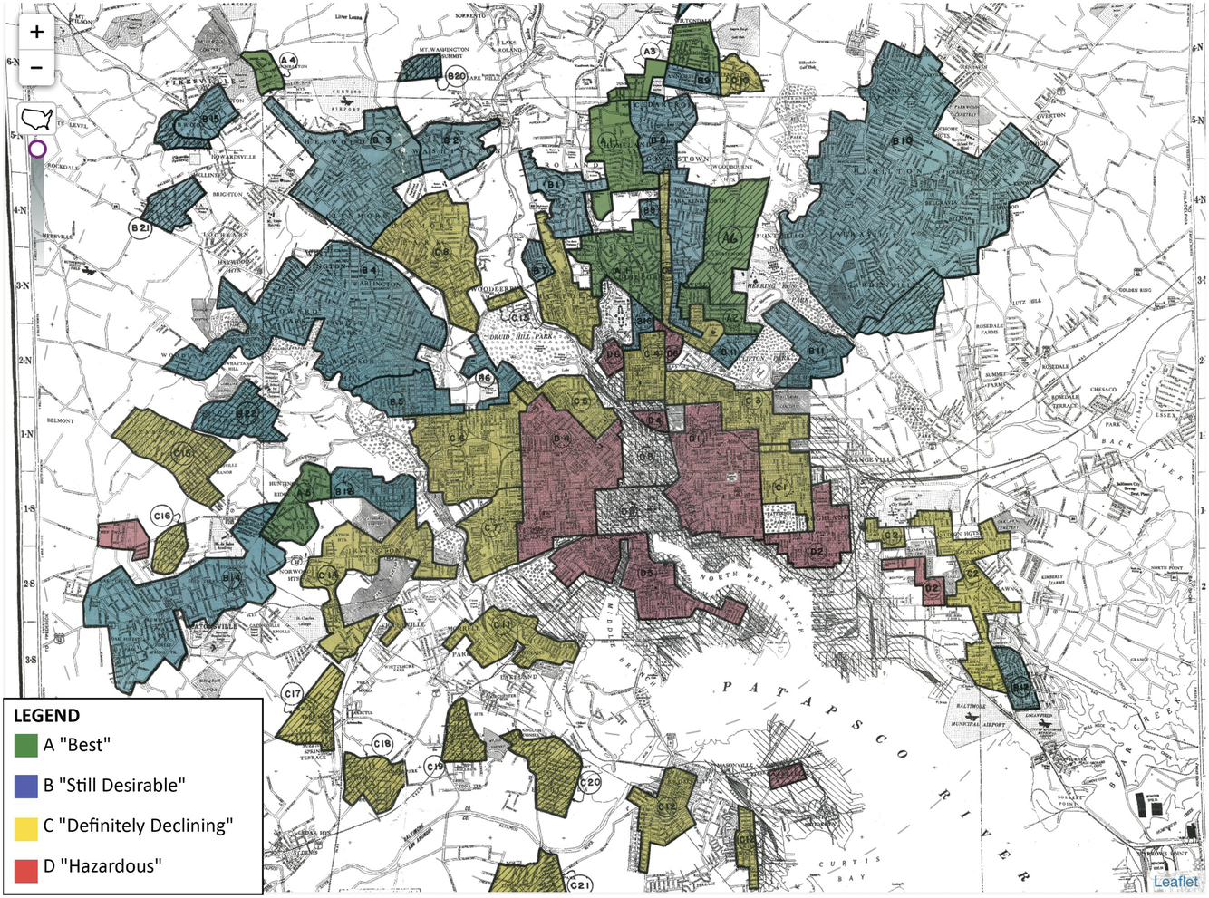 Open Data and Racial Segregation: Mapping the Historic