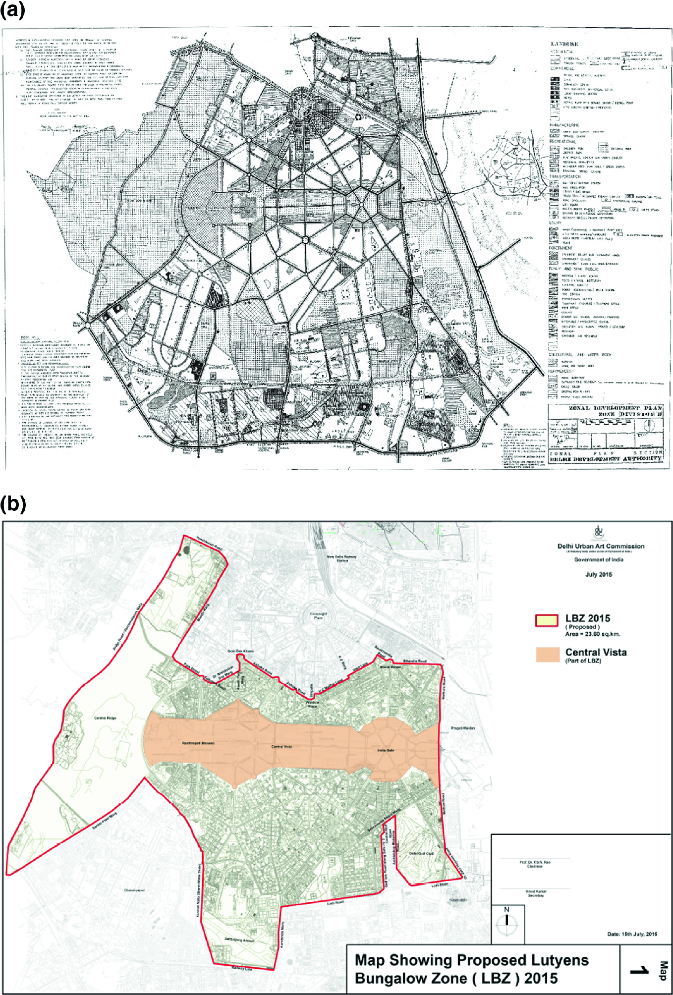 Visualizing Environmental Impact of Smart New Delhi