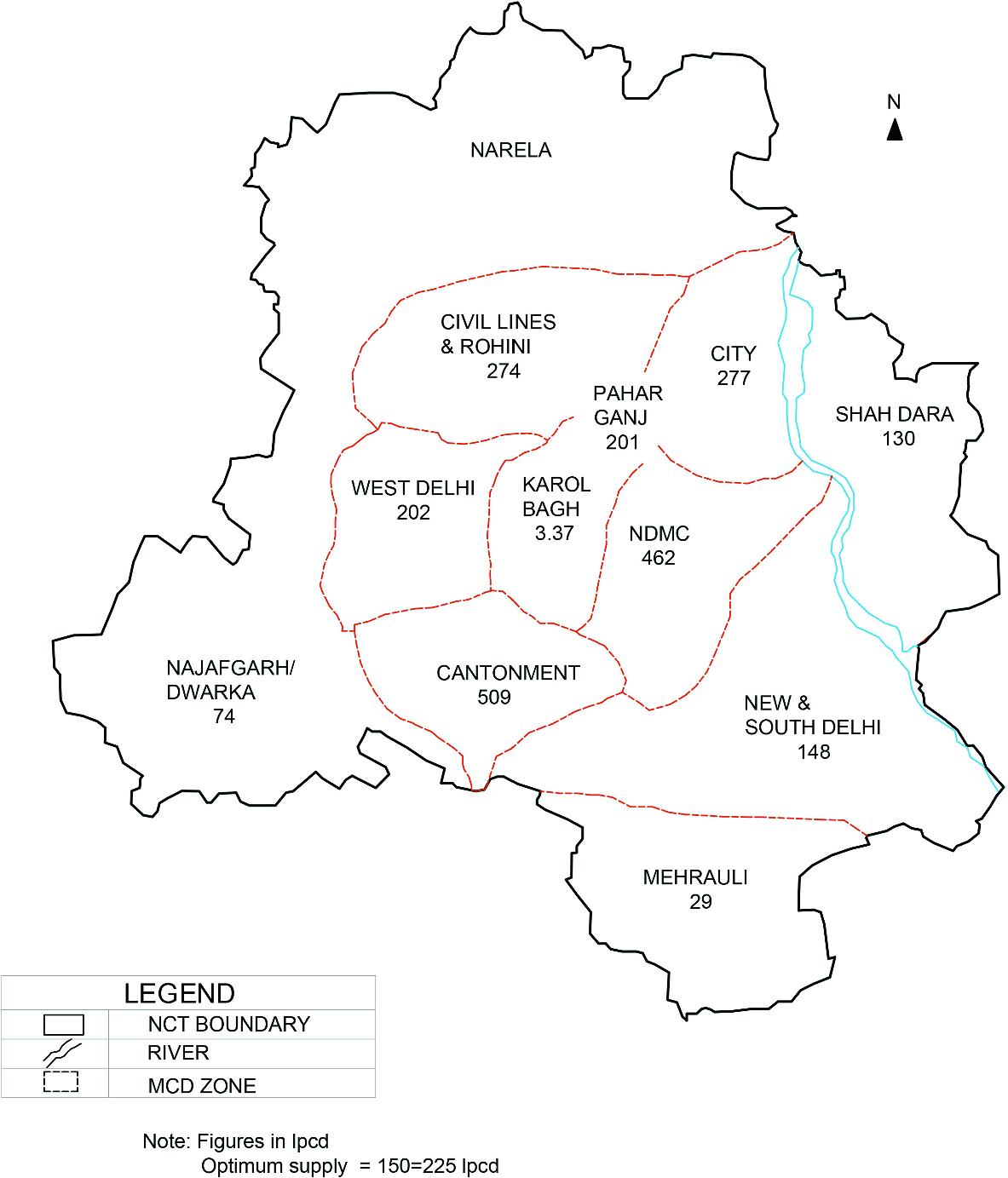 Visualizing Environmental Impact of Smart New Delhi