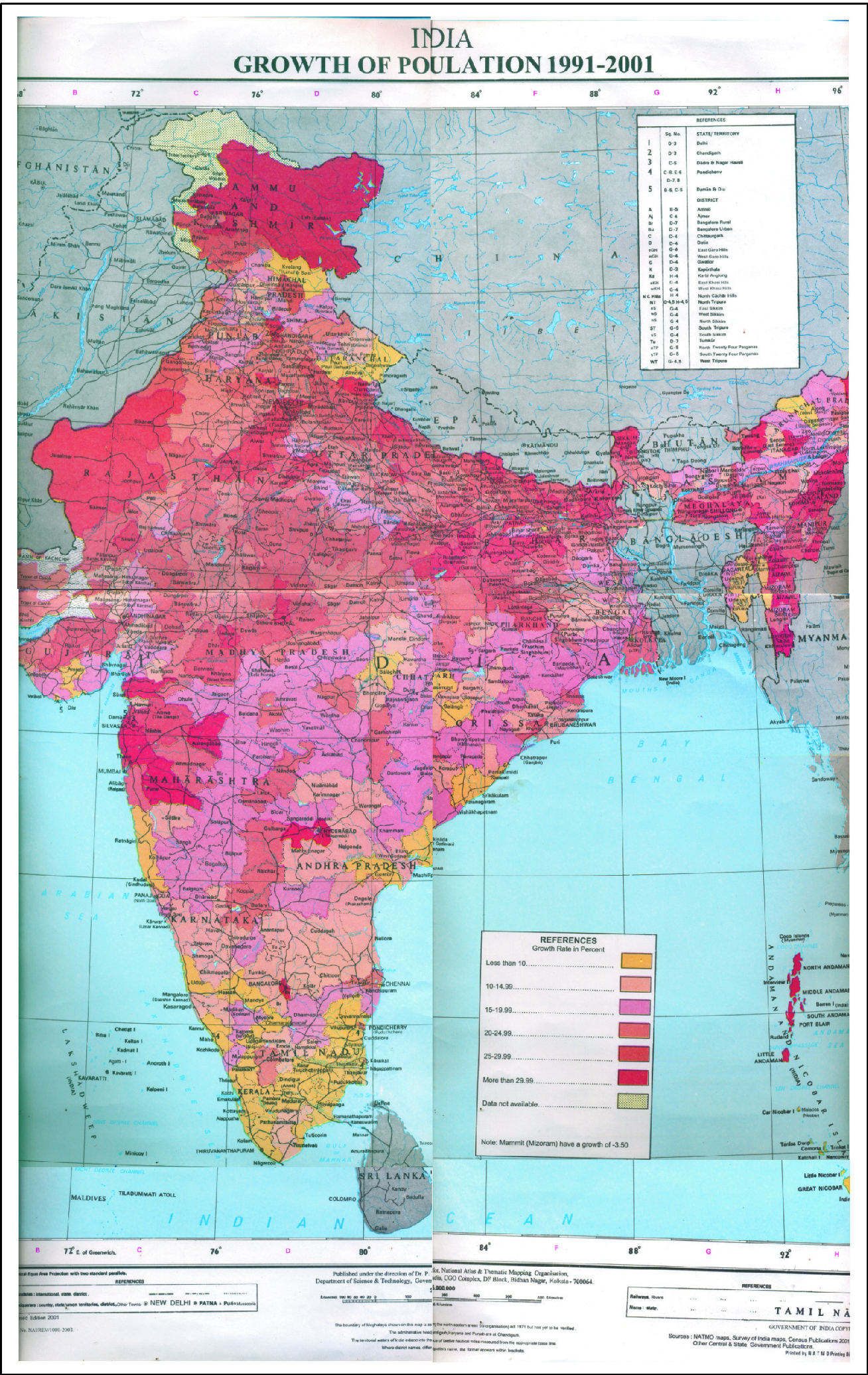Aspects of the Quality of Life in India and Its Macro Region
