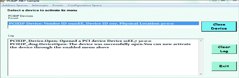 Pci Address Space
