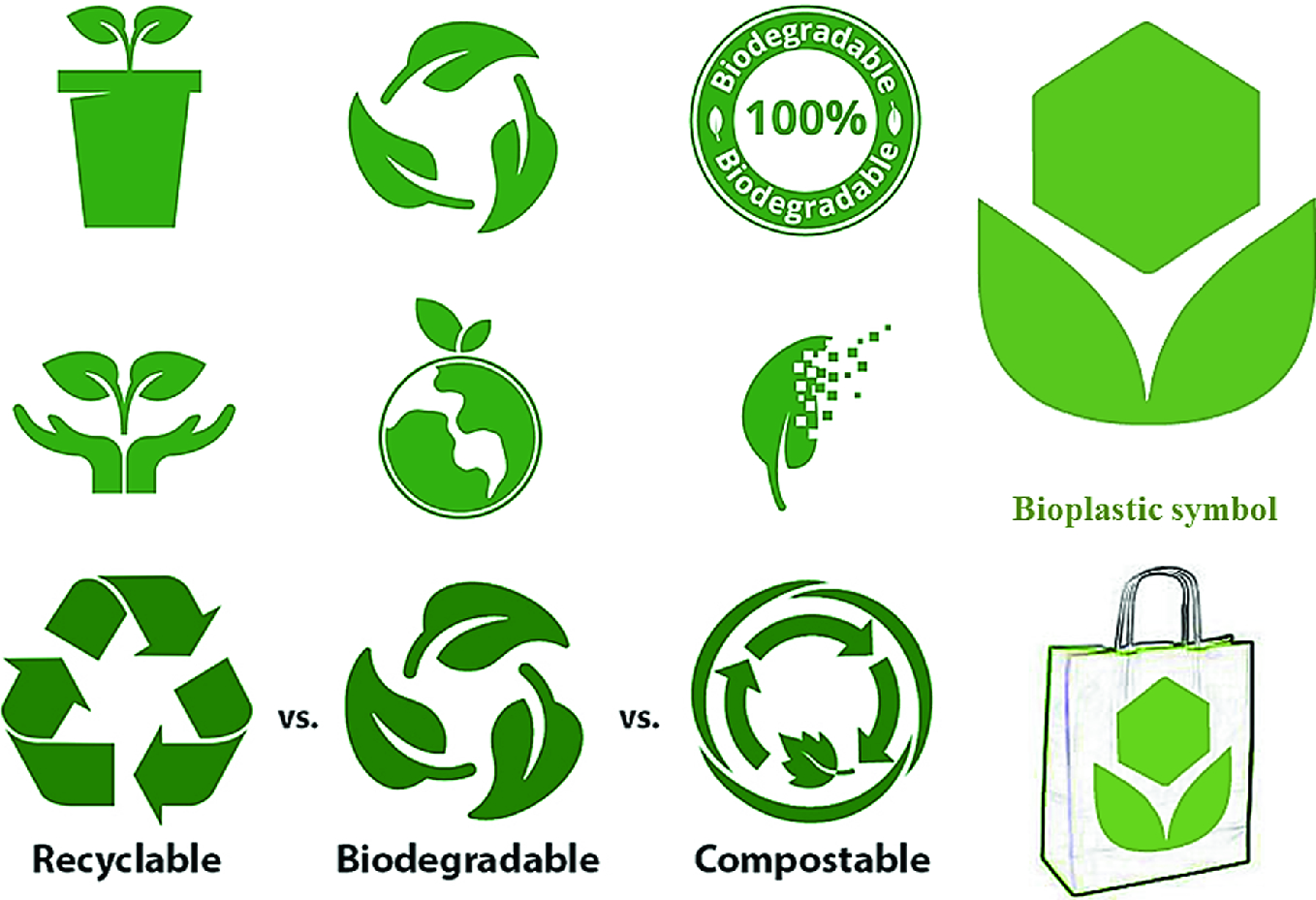 Green Biopolymers and Its Nanocomposites in Various