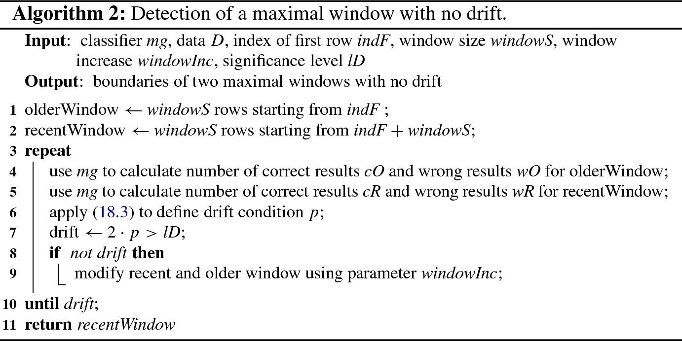 Gene Expression Programming Classifier with Concept Drift Detection