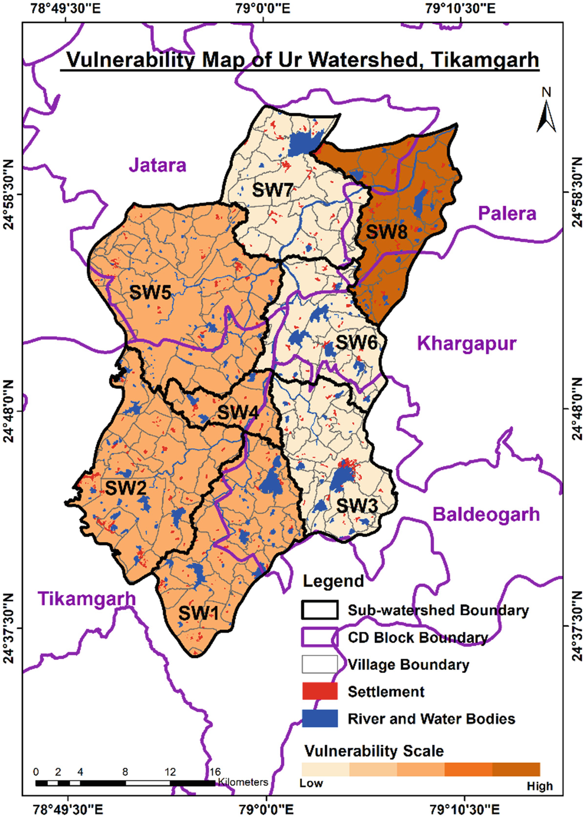 Vulnerability Assessment Of The Agro Based Households To Climate Change In The Bundelkhand Region And Suggesting Adaptation Strategies Springerlink
