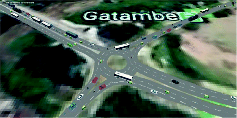 Selection of Optimum Junction Operation Strategy for Gatambe