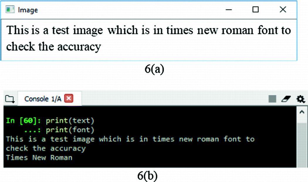 Optical Character and Font Recognizer   SpringerLink