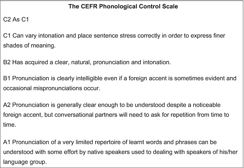 Assessing Pronunciation   SpringerLink
