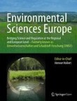 Environmental Sciences Europe Cover Image