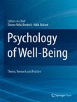 Psychology of Well-Being Cover Image