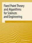 Fixed Point Theory and Algorithms for Sciences and Engineering Cover Image