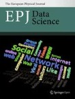 EPJ Data Science Cover Image