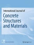 International Journal of Concrete Structures and Materials Cover Image