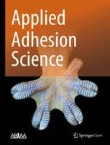 Applied Adhesion Science Cover Image