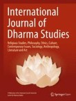 International Journal of Dharma Studies Cover Image