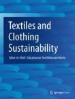 Textiles and Clothing Sustainability Cover Image