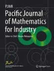 Pacific Journal of Mathematics for Industry Cover Image
