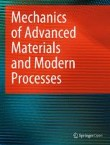 Mechanics of Advanced Materials and Modern Processes Cover Image