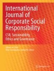 International Journal of Corporate Social Responsibility Cover Image