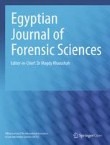 Egyptian Journal of Forensic Sciences Cover Image