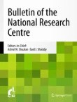 Bulletin of the National Research Centre Cover Image