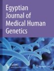 Egyptian Journal of Medical Human Genetics Cover Image