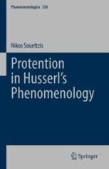 Protention in Husserl's Phenomenology Couverture du livre