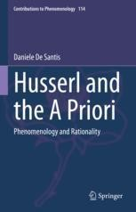 Husserl and the A Priori: Phenomenology and Rationality Book Cover