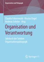 """Bild vom Buchcover des Sammelbandes """"Organisation und Verantwortung. Jahrbuch der Sektion Organisationspädagogik""""."""