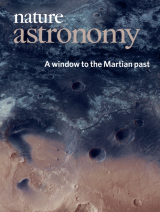 Nature Astronomy cover