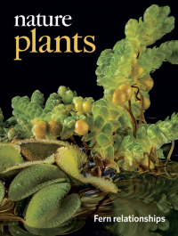 Cover Nature plants Volume 4 Issue 7, July 2018
