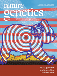 Nature genetics cover