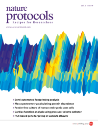 Nature Protocols vol 3, issue 9