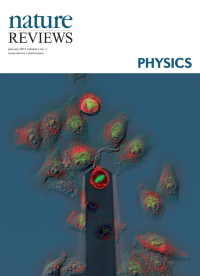 Nature Reviews Physics cover