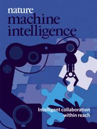 Nature Machine Intelligence cover