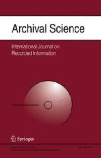 Introduction: archiving research data | SpringerLink