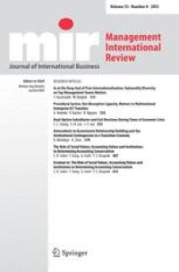 Language in International Business: A Review and Agenda for Future ...