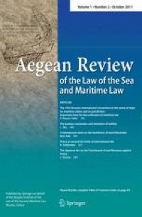 Contemporary views on the lawfulness of naval blockades | SpringerLink