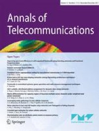Blockchain and artificial intelligence for network security - Annals of Telecommunications