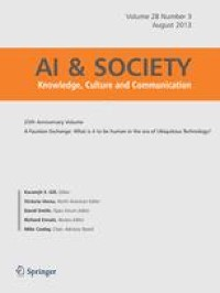 """Blessed by the algorithm"""": Theistic conceptions of artificial ..."""