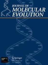 Journal of Molecular Evolution                              volume 89,pages  415–426 (2021 )Cite this article