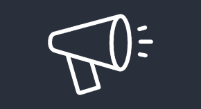 Icon of a megaphone, indicating the Call for Papers page.