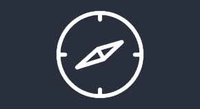 Icon of a compass, indicating the Before you submit page.