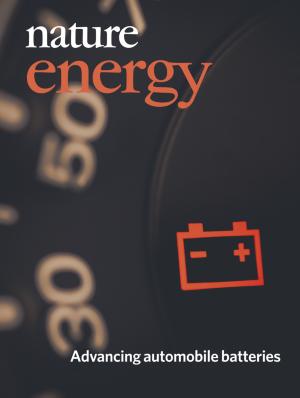 Nature Energyの表紙