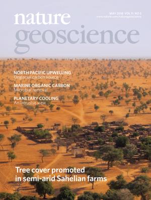 Nature Geoscienceの表紙